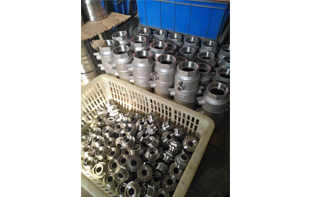 Safety Valve Casting Is Ready to Be Assembled and Shipped